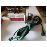 Schuaer Battery Charge & 2 Prong Extension Cord