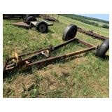 Old Spreader Frame With 2 Axles