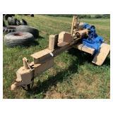 """Wood Splitter In Progress - 4 1/2"""" X 24 Cylinder,"""