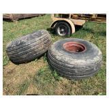 Pair of 192 X 16.1 Flotation Spreader Tires