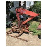 HD Hydraulic Side Boom With Outriggers,