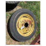 """6 Bolt - 20"""" Implement Rim With Tire"""