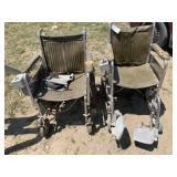 Pair of Racing Wheel Chairs