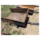 Lawn Cart - No Tailgate & One Soft Tire