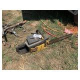 McCullock 610 Chain Saw - Parts Only