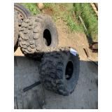Pair of 22/10 X 8 ATV TIres - High Ribs