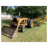 John Deere 1010 Tractor/Loader/Back Hoe (Gas)