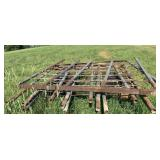 4 Sections Used Hay Rack Sides - As Shown