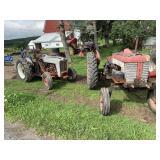 View of Tractors