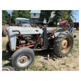 Ford Jubilee Tractor With Ford Backhoe