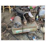 Small 2 HP Air Compressor - Works Fine