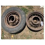 Antique - May Be Ford Model A-T Rims