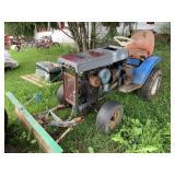 Ford Garden Tractor - Starts & Runs W/Blade