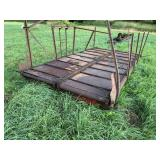 Used Silage Wagon Bed With Chain