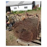 Roll of Fence, 10 Lb Boat Anchor, Bale Forks