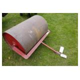 LAWN ROLLER- RED PAINT