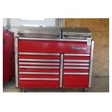 SNAP-ON BBQ GRILL WITH DRAWERS