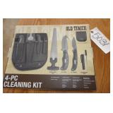 NEW - OLD TIMER 4-PC KNIVE SET W/HOLSTER