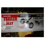 NEW  HAUL MASTER TRAILER DOLLY