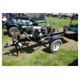 HEAVY DUTY LOG SPLITTER W/ HONDA 240 ENGINE