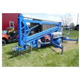 GENIE 3419 ELECTRIC MAN LIFT PLUS MATERIAL ADAPTER