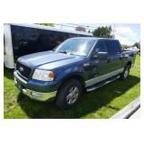 BLUE FORD F150 XLT 2004