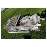 PALLET METAL ROOFING ANG GUTTERS