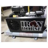 IRON HORSE WHEEL BARROW STYLE AIR COMPRESSOR