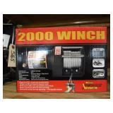 WOOD POWER 2000 POUND ATV WINCH