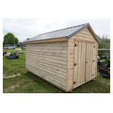 AMISH MADE SHED W/ METAL ROOF