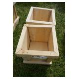 SMALL PLANTERS-ROUGH CUT LUMBER