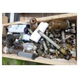 BOX FULL OF FITTINGS AND FILTERS