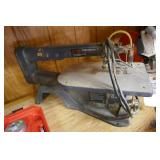 """SEARS 16"""" VARIABLE SPEED SCROLL SAW"""