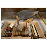 4 BOXES OF VARIOUS TOOLS & 2 MUD FLAPS