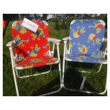 2 CHILDS LAWN CHAIRS