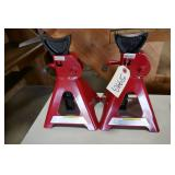 PAIR OF 3 TON JACK STANDS