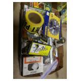 BOX OF MISC. DOOR LOCK PINS, NAILS, ECT