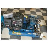 EMGLO WHEELBARROW AIR COMPRESSOR