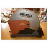 "RIGID 14"" ELECTRIC CUT OFF SAW"