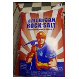 8-BAGS OF AMERICAN ROCK SALT-HALITE