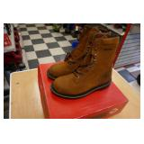 "NEW WOLVERINE-FOSTER SIZE 9M WORK BOOT-8""TALL"