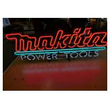 MAKITA POWER TOOLS NEON SIGN- WORKS