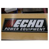 ECHO POWER EQUIPMENT TIN SIGN