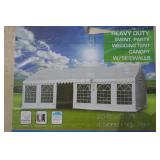 20X20 HEAVY DUTY PARTY TENT-4 SIDED-NEW IN BOX