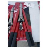 "NEW 3 PC. PRUNING SET 8"" ,21"" & 24"" SHEARS"
