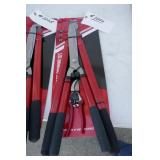 "NEW 3 PC. PRUNING SET 8"", 21"" & 24"" SHEARS"