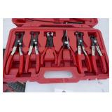 NEW - 7 PC.HOSE CLAMP PLIER KIT