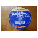 "P.V.C. ELECTRICAL TAPE-BLACK-.71""X60"