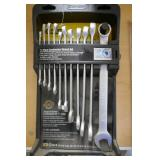 NEW STANLEY 11 PC. SAE WRENCHES