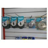 2 NEW MAKITA WIRE WHEELS PLUS